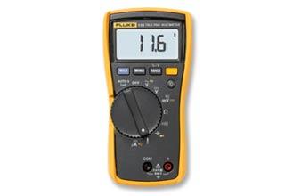 Fluke 116 温度及微安电流测量 HVAC 万用表