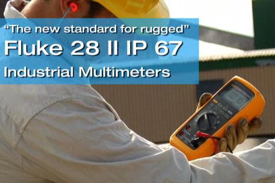 Fluke 28 II 坚固耐用的新标准