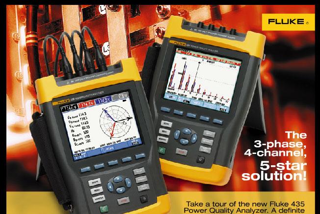 Fluke 430 系列三相电能质量分析仪