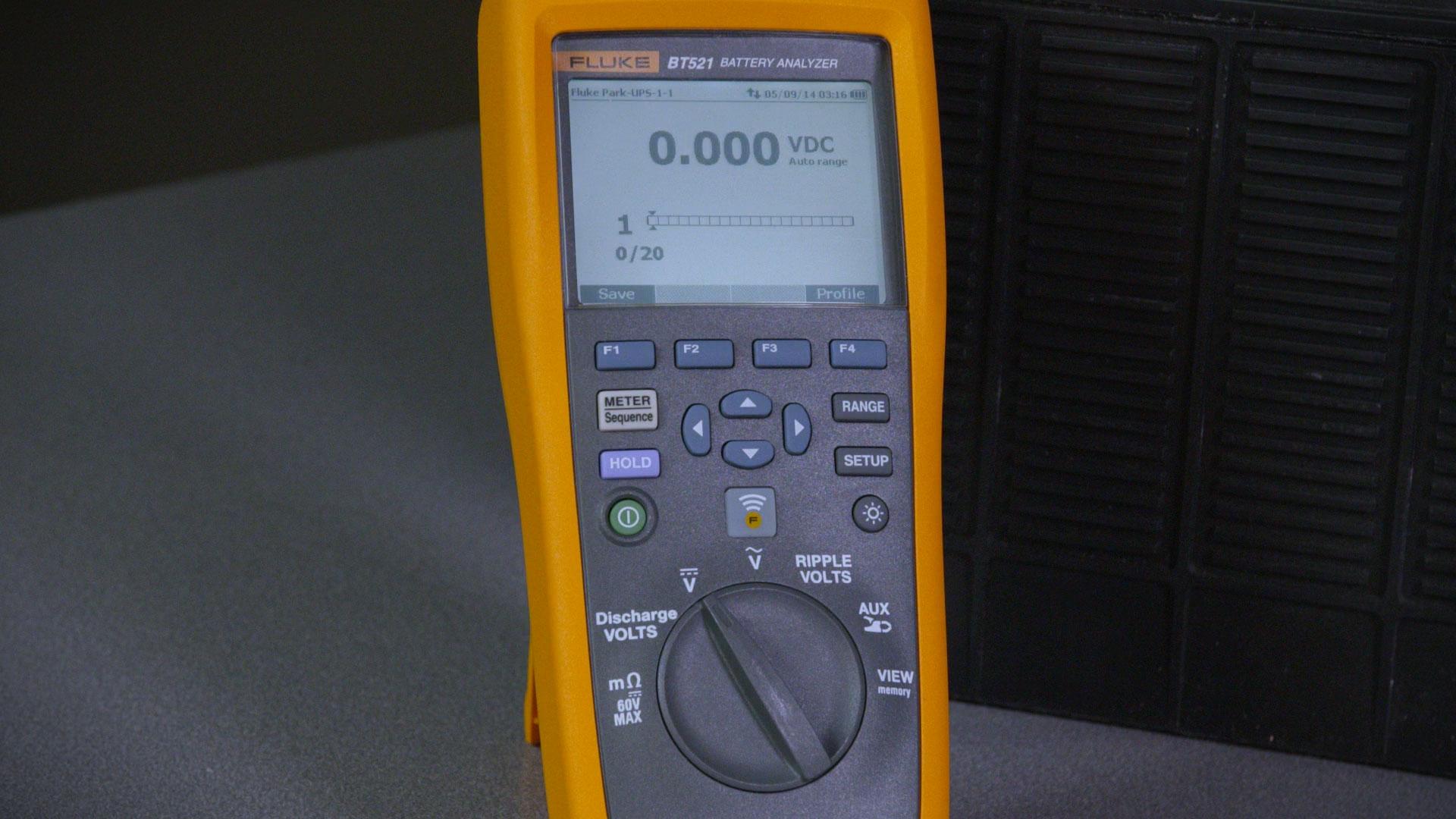 为什么您需要Fluke BT500 系列蓄电池内阻分析仪