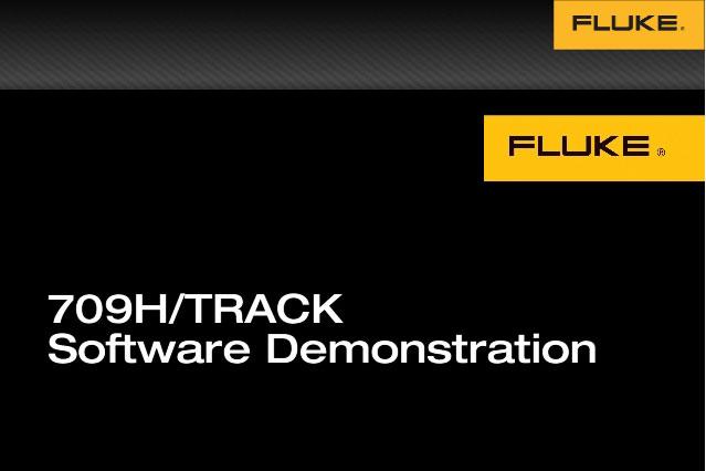 709H/TRACK 软件演示