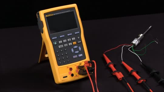 How to Measure and Source an RTD on the Fluke 754 Documenting Process Calibrator