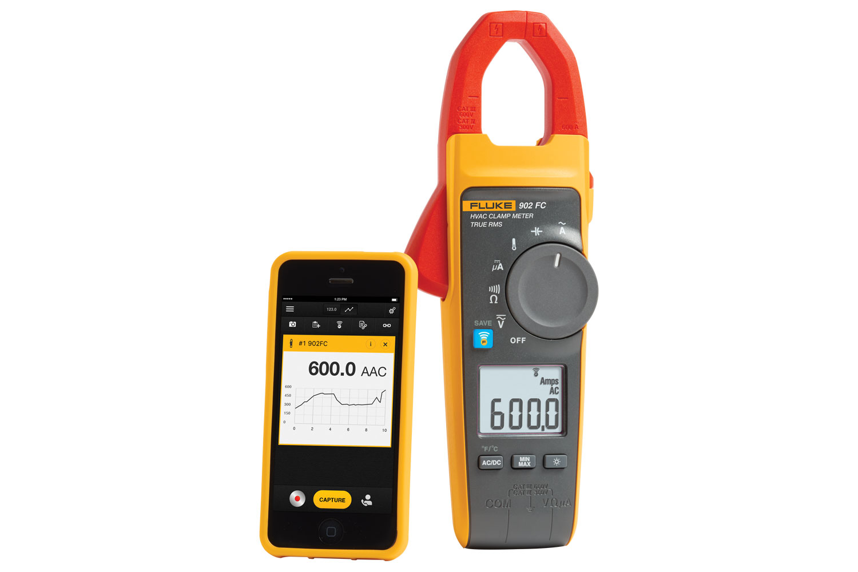 Fluke902FC 600A真有效值无线钳表