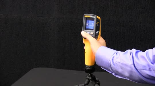 Hi/Low Temperature Alarms On The Fluke VT04 Visual IR Thermometer