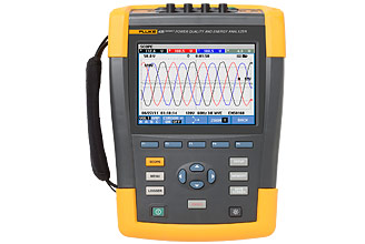 Fluke 430 Series II Energy and Power Quality Analyzer
