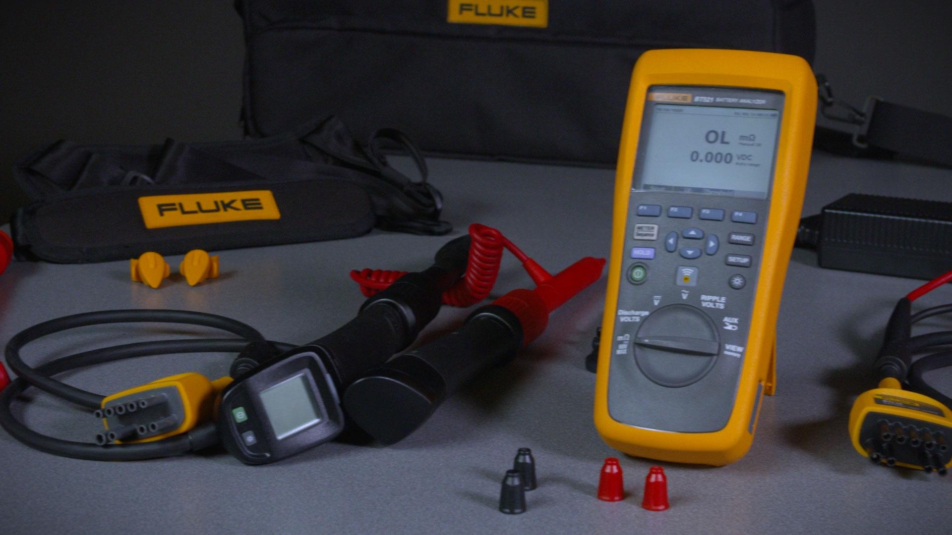 Fluke BT500 系列蓄电池内阻分析仪概述