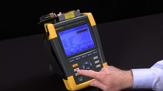 How to Perform a Transient Capture on the Fluke 435