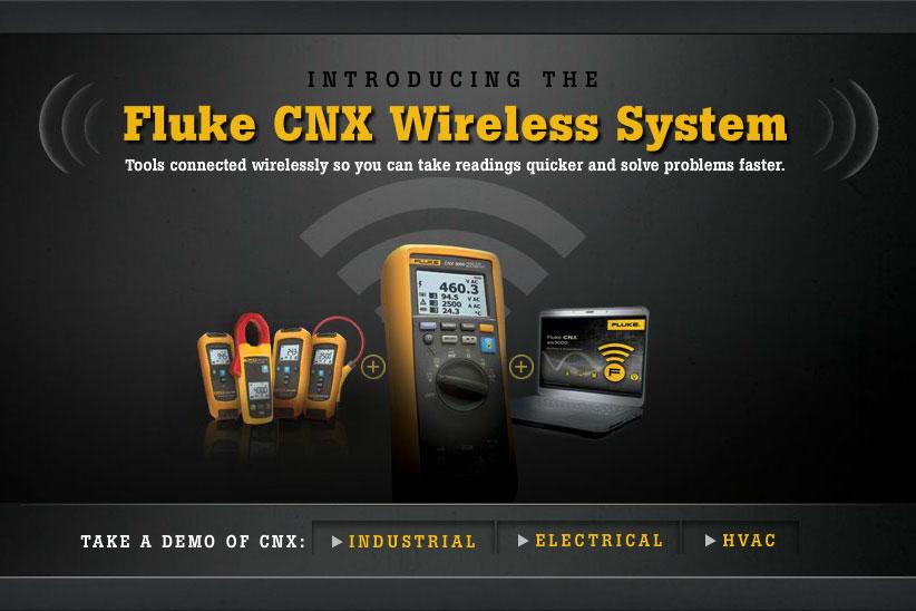 Fluke CNX Demo