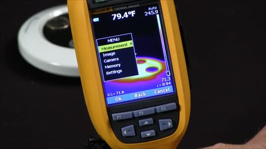 How to Set Emissivity on the Fluke Ti32
