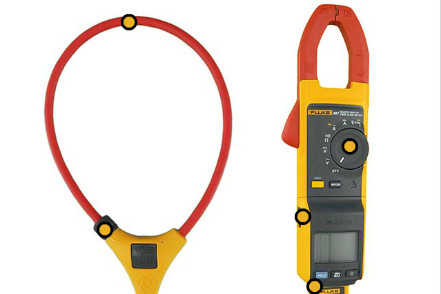 Fluke 381 Remote Display True-rms AC/DC Clamp Meter with iFlex