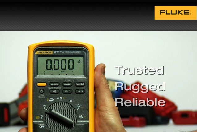 Get Serious with Fluke Digital Multimeters