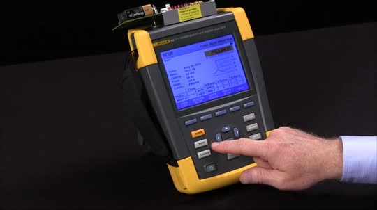 How To Use A Harmonics Test In A 435 Power Quality Analyzer