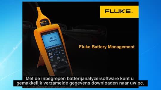 Fluke BT500 系列蓄电池内阻分析仪使用说明:创建报告