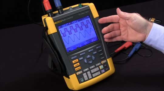 How To Save and Set Up a Waveform With the Fluke 190 Series ScopeMeter® Test Tools