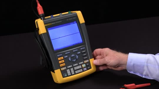 How To Capture Random Events Using the Instant Replay On a Fluke ScopeMeter Test Tools