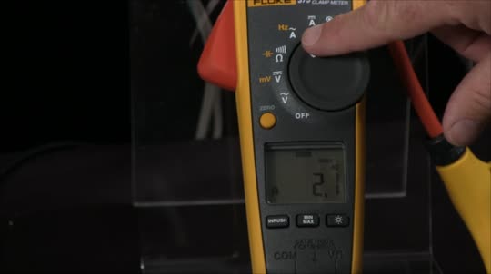How to Measure In-Rush Current with a Fluke Clamp Meter