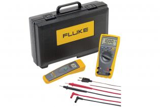 Fluke 179/61 Industrial Multimeter and Infrared Thermometer Combo Kit 1