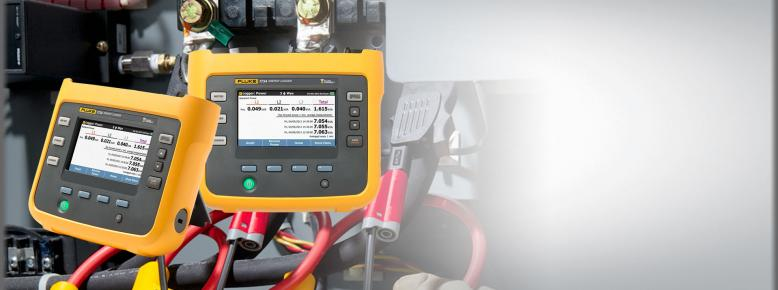 Fluke 1732 and 1734 Three-Phase Electrical Energy Loggers