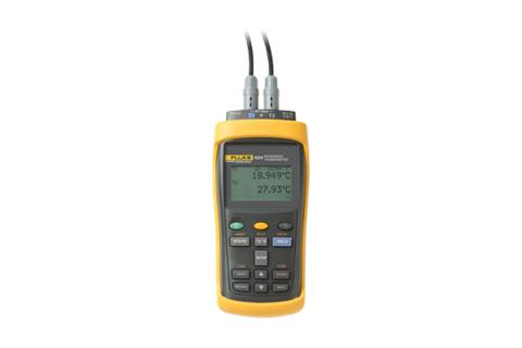 Fluke Calibration 1524 Handheld Thermometer Readout
