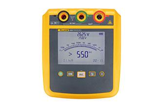 Fluke 1535 / 1537 2500V high voltage insulation tester