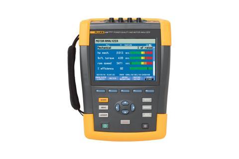 Fluke 438-II Power Quality and Motor Analyzer