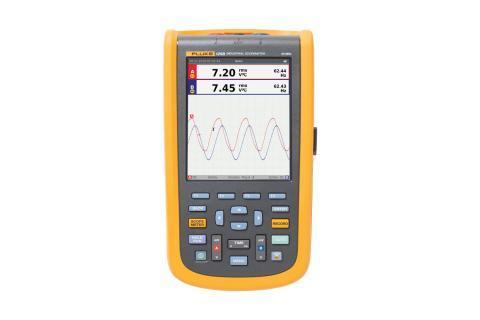 Fluke 120B Series Industrial ScopeMeter® Hand-Held Oscilloscopes