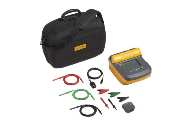 Fluke 1550C 5 kV Insulation Tester – soft case, ir3000 FC wireless data connector