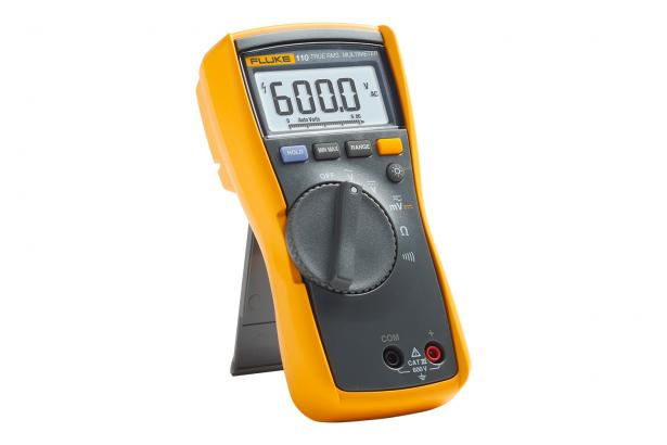 Fluke 110 True-rms Digital Multimeter with tilt-stand
