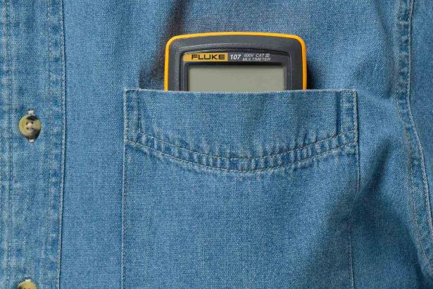 The Compact Pocket Fluke 107