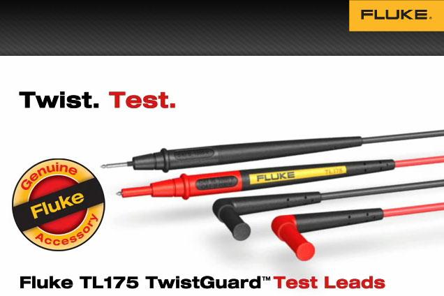 TL175 TwistGuard™ Test Leads