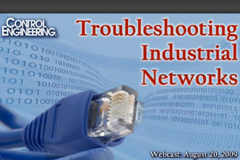Troubleshooting Industrial Networks Webcast