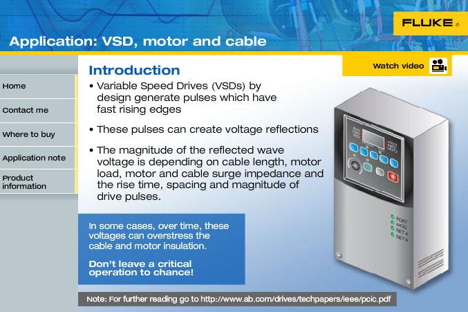 调速驱动(VSD)、电机和电缆