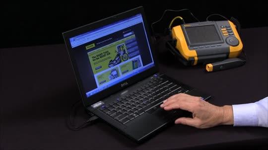 如何使用Fluke 810测振仪软件(英文)